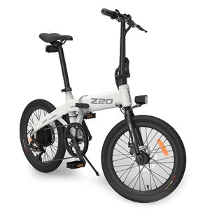 Ninebot HIMO Z20 Electric Bike Shimano 6 Speed 10Ah Battery White