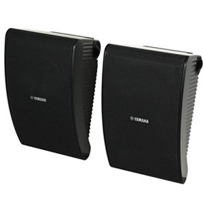 "Yamaha NS-AW592 All Weather 6.5"" Outdoor Speakers Black Pair"