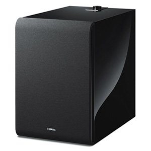 "Yamaha NS-NSW100 8"" Wireless Subwoofer MusicCast Black Gloss"