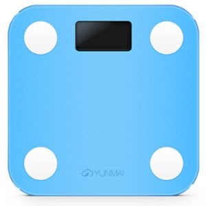 Yunmai Mini Smart Scale Body Fat Composition Monitor App Blue